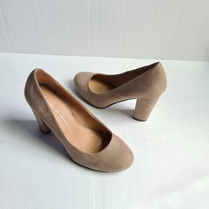CHINESE LAUNDRY taupe colored heels